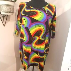 🌈 Rainbow Psychedelic Shirt